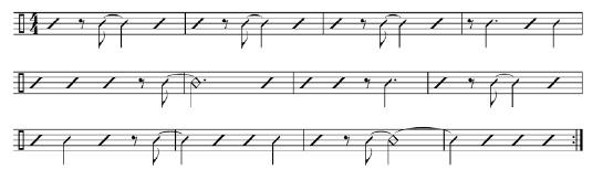 Framework for Musical Practice 4