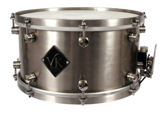VK Stainless Steel Snare drum