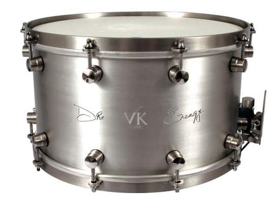 VK Aluminum Dre Energy Snare Drums