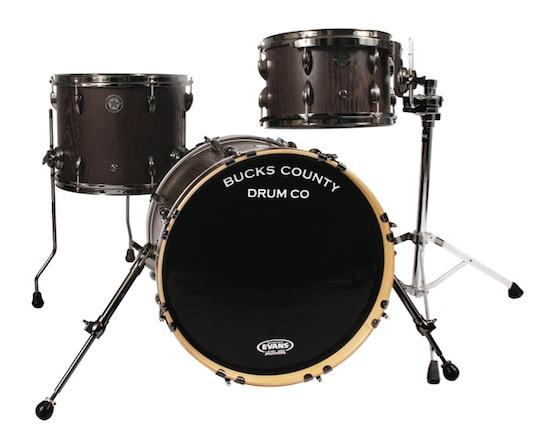 Bucks County Semi-Solid Bebop drumset