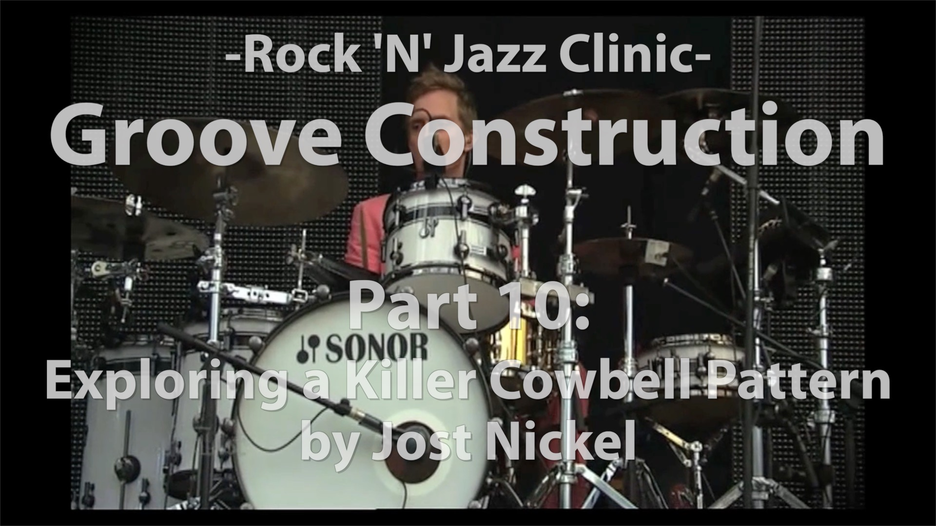 Video Lesson! Groove Construction, Part 10: Exploring a Killer Cowbell Pattern