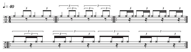 Timetable Warm-Up Modulating Swing Patterns 1
