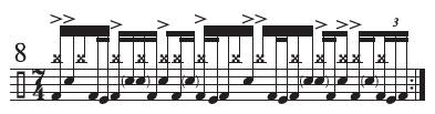 Progressive Drumming Essentials 7