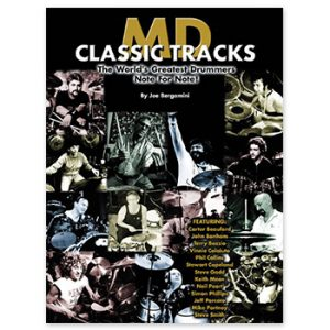 MD Classic Tracks: The World's Greatest Drummers Note for Note! (Print Book)