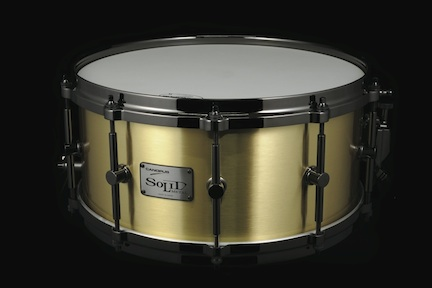 Canopus Solid Brass Snare Drum