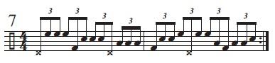 Rhythmic Conversions 7