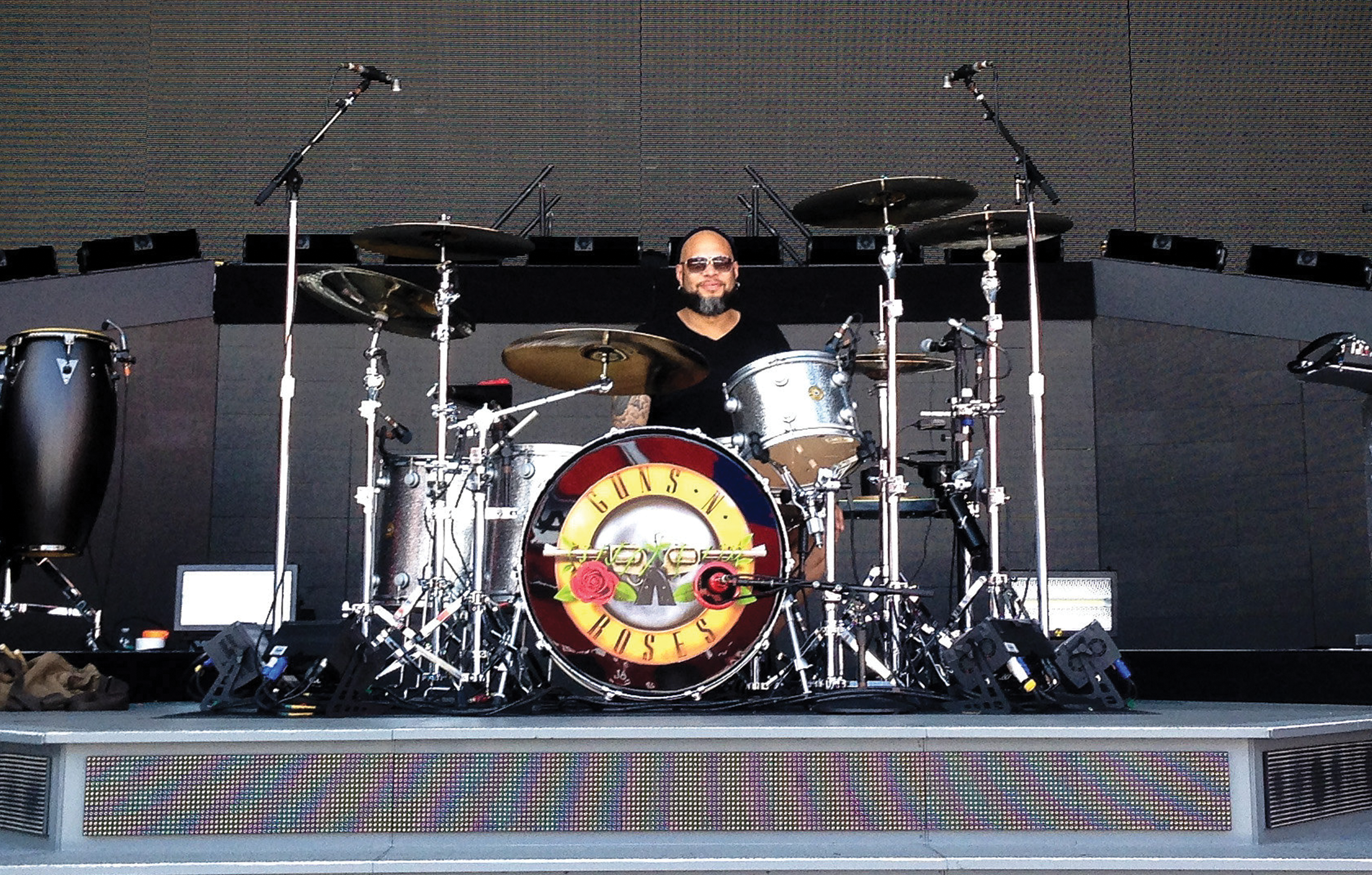 Frank Ferrer Modern Drummer Magazine