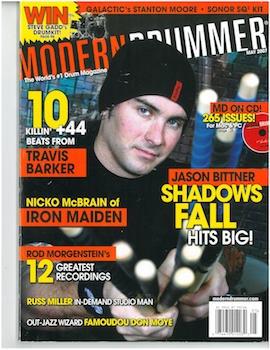 Modern Drummer May 2007