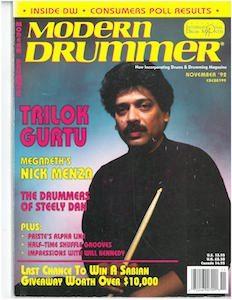 Trilok Gurtu Drummer | Modern Drummer Archive