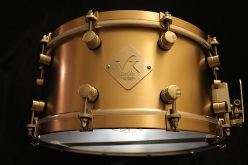 Van Kleef B20 Bronze snare drums