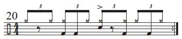 Exploring The Mangambe Rhythm 12