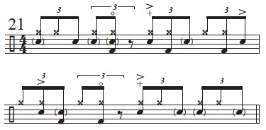Exploring The Mangambe Rhythm 13