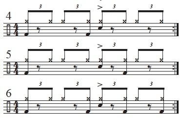 Exploring The Mangambe Rhythm 4-6