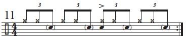 Exploring The Mangambe Rhythm 7