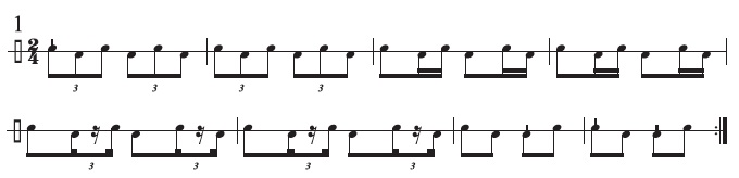 Basel Drumming Basics 1