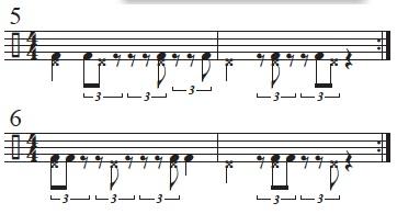 Rhythmic Conversions 4
