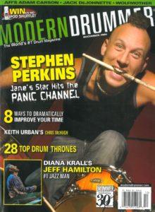 Stephen Perkins Drummer | Modern Drummer Archive