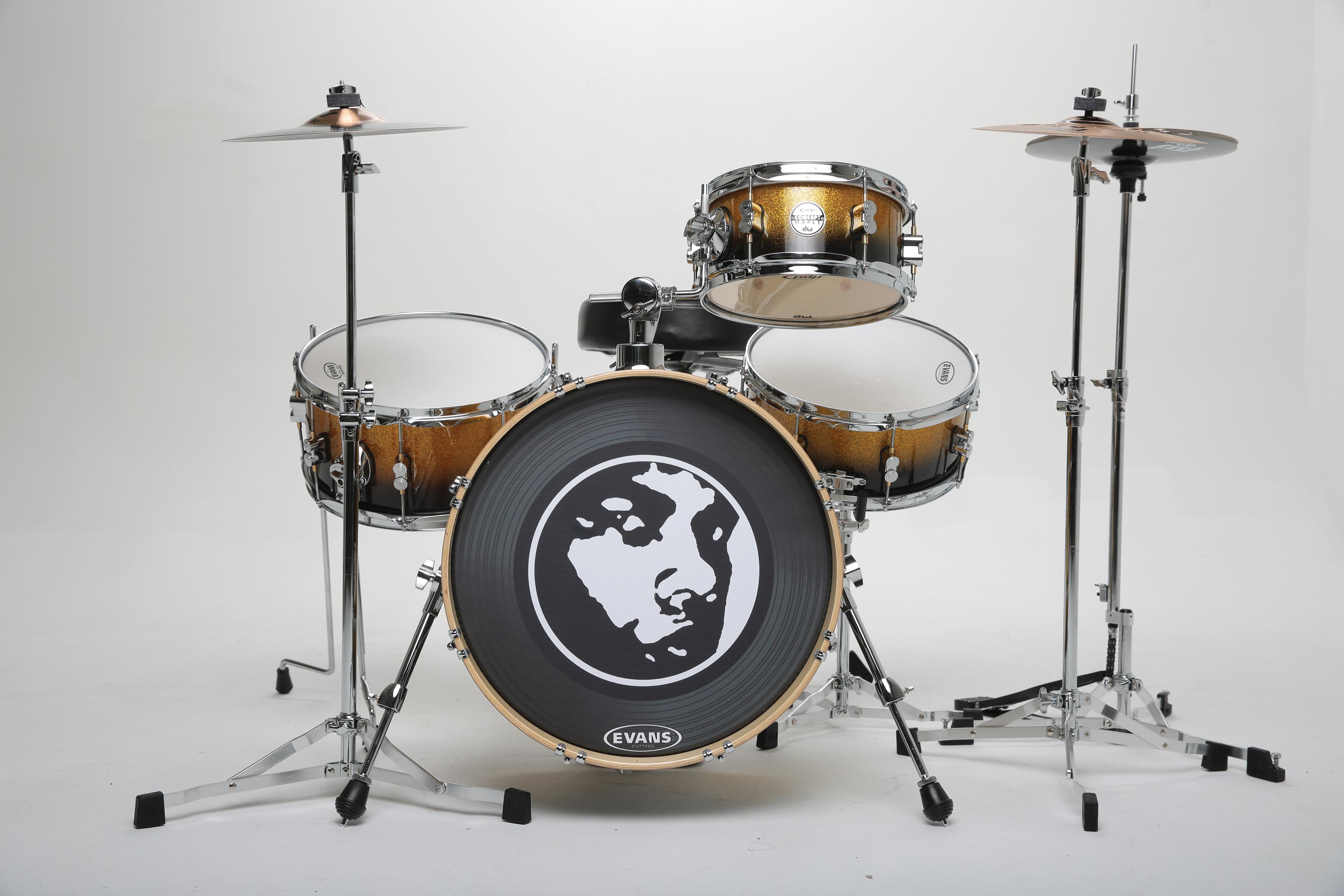 spaun 20th anniversary kit pdp daru jones new yorker kit trx cymbals and more modern. Black Bedroom Furniture Sets. Home Design Ideas