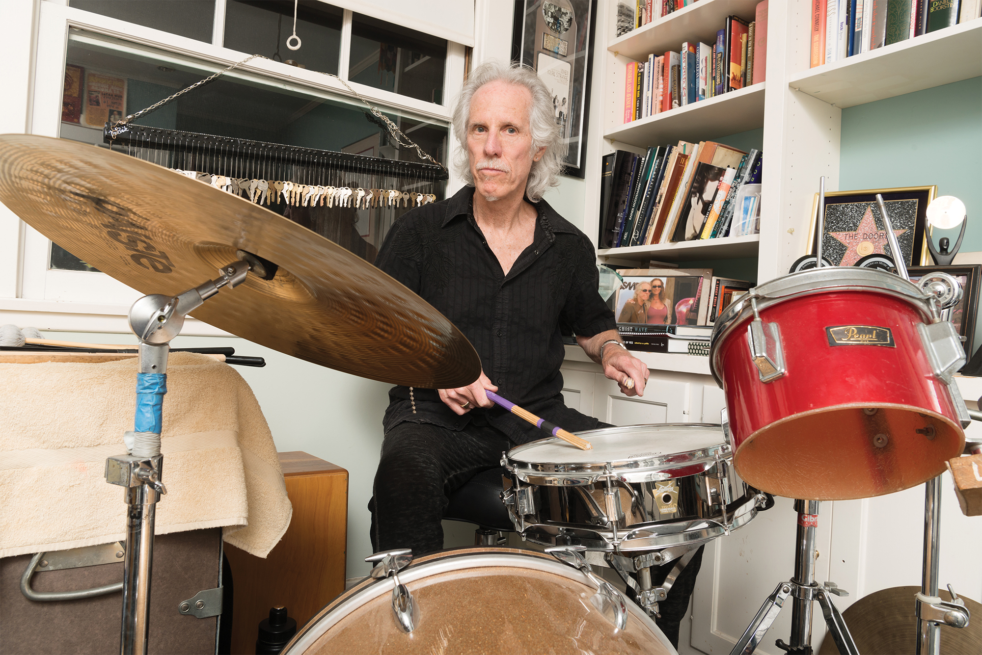 If the Stones were a boulder picking up bits of soil sweat and grease as it rumbled through the American South and Pink Floyd was a spaceship sending ...  sc 1 st  Modern Drummer Magazine & The Doors\u0027 John Densmore - Modern Drummer Magazine