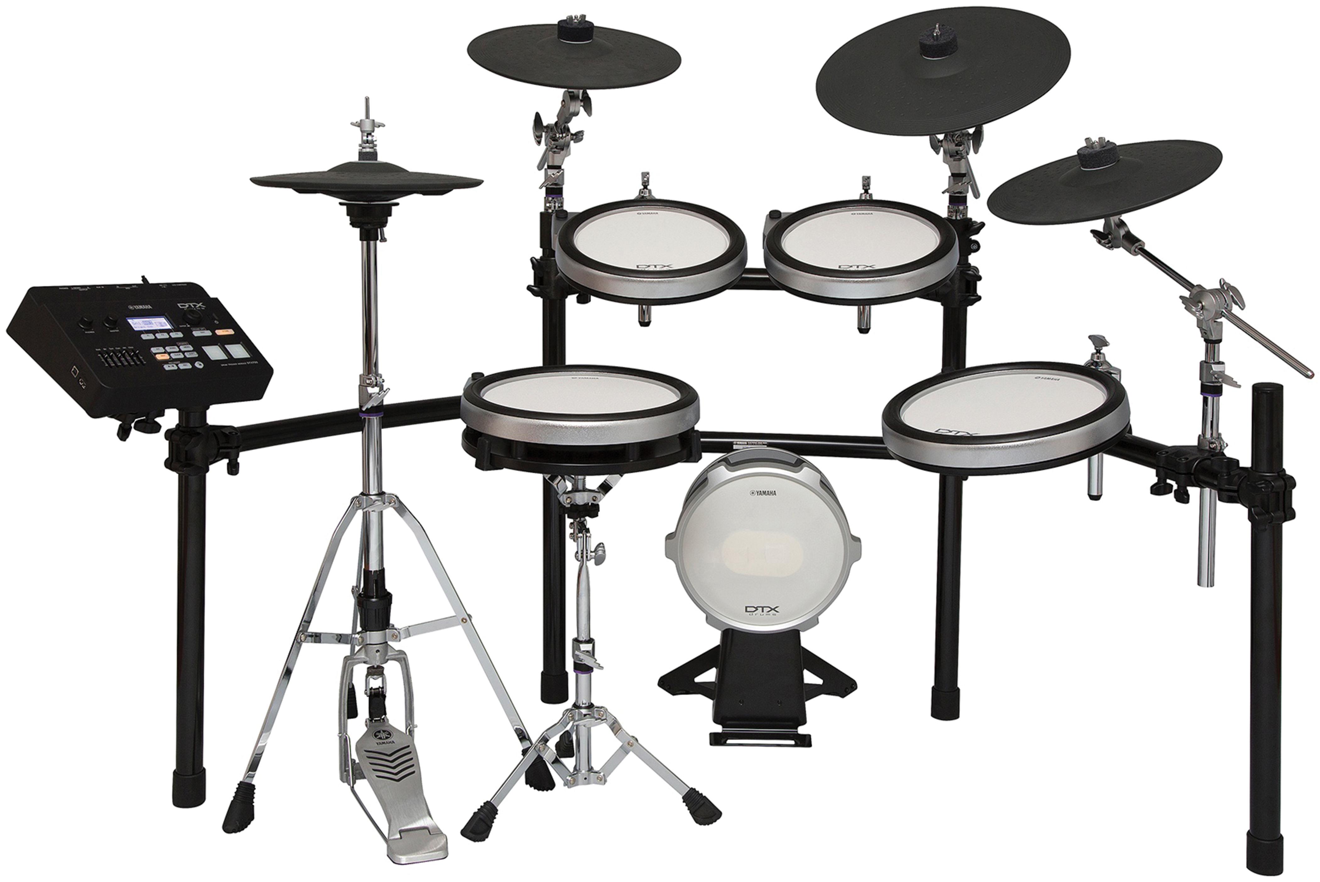 Yamaha dtx760k electronic drumset modern drummer magazine for Yamaha dtx pad set