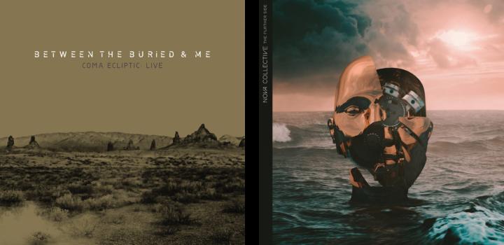 Between the Buried and Me live album, Drum Trek method book, and ...
