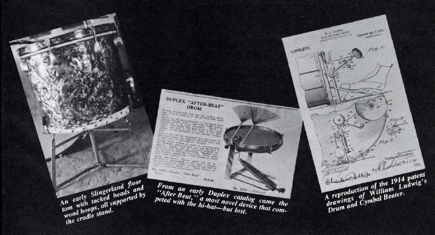 the evolution of the drum set part two modern drummer magazine. Black Bedroom Furniture Sets. Home Design Ideas