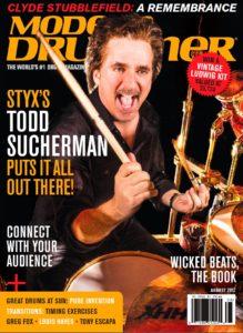 Todd Sucherman Drummer | Modern Drummer Archive
