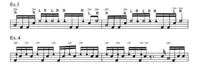 Latin Rock Patterns 4