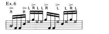 Latin Rock Patterns 6