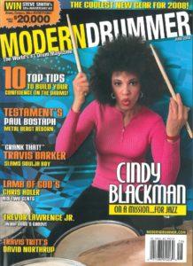 Cindy Blackman-Santana Drummer | Modern Drummer Archive