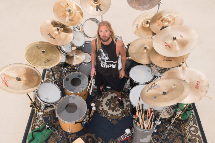 The Foo Fighters Taylor Hawkins Modern Drummer Magazine