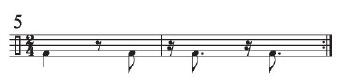 Implied Brazilian Rhythms 4