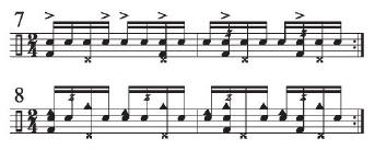 Implied Brazilian Rhythms 6