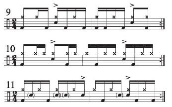 Implied Brazilian Rhythms 7