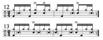 Implied Brazilian Rhythms 8