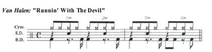 Van Halen Runnin With The Devil