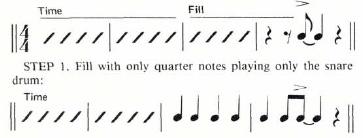 Foundation for Big Band Fills 3