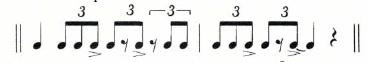 Foundation for Big Band Fills 8
