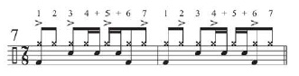 Grounding Odd-Time Grooves With a Quarter-Note Pulse 8