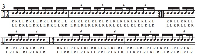 16th Notes and Sextuplets 5
