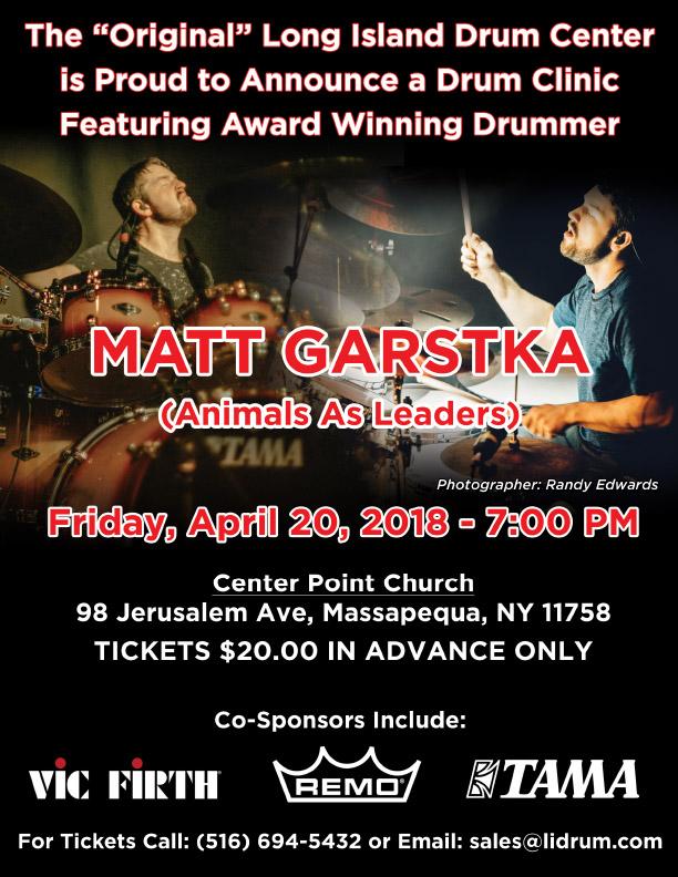 Matt Garstka clinic