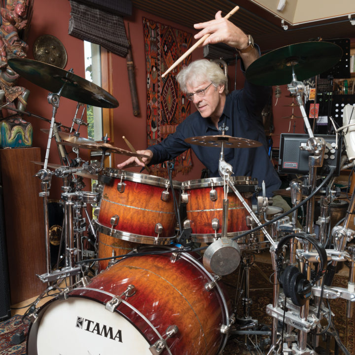Stewart Copeland Modern Drummer Magazine