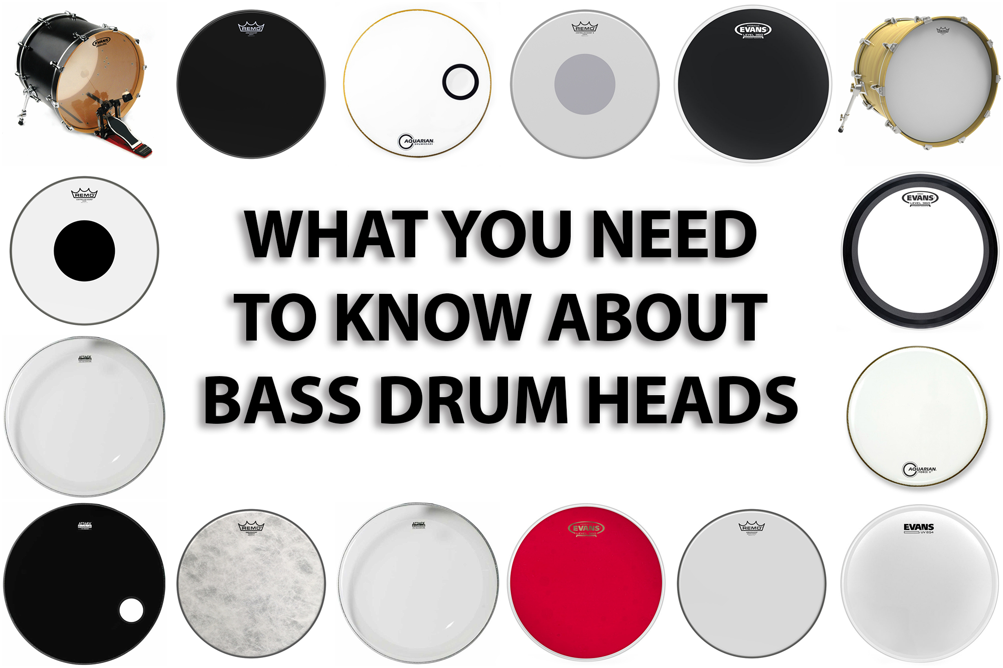 What You Need to Know About Bass Drum Heads - Modern Drummer Magazine