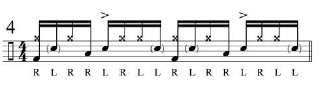 Broken doubles and Paradiddles 6