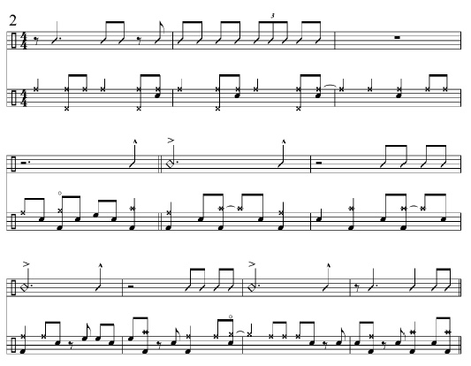 Approaches for Big Band Rhythmic Articulation 4