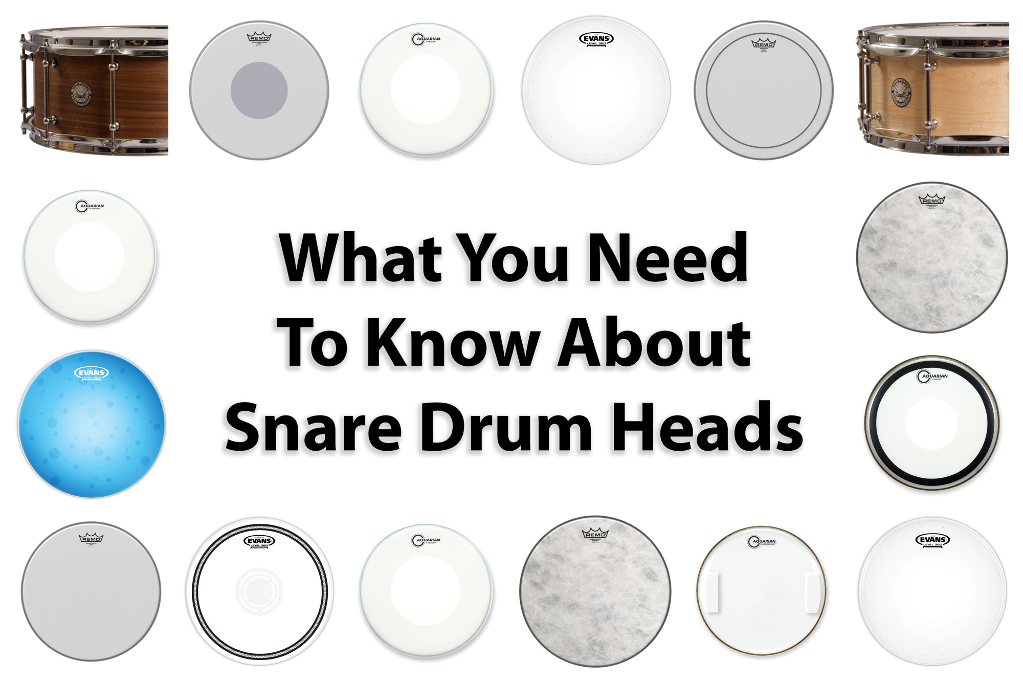 What You Need to Know About Snare Drum Heads - Modern Drummer Magazine