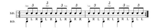 Expanding The Paradiddle 1