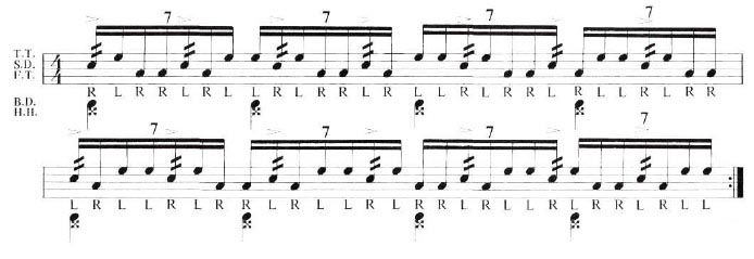 Expanding the Paradiddle 11