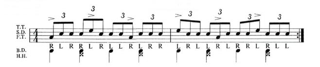 Expanding The Paradiddle 5