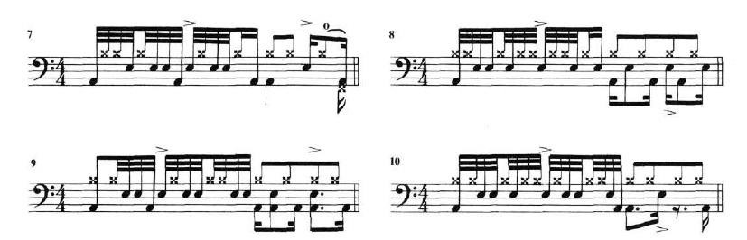 Funk with 32nd Notes 2
